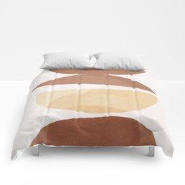 abstract minimal 7 Comforters