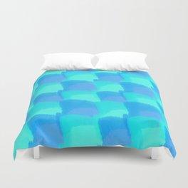 Bluesy Quilt Duvet Cover