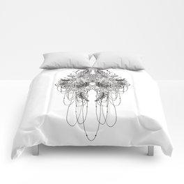 Black & White Lace Comforters