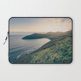Keem Bay Sunset - nature photography Laptop Sleeve