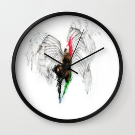 Calling for freedom  Wall Clock