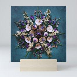 April Nature Mandala II  Mini Art Print