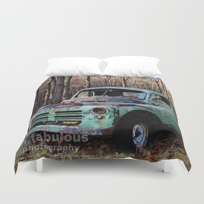 good ol' truck Duvet Cover