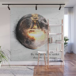 Glow Up Wall Mural
