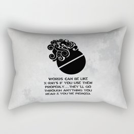 Brave New World - Aldous Huxley Rectangular Pillow
