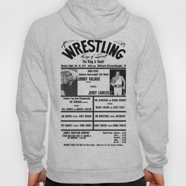#4 Memphis Wrestling Window Card Hoody