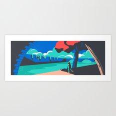 France: La Seine Art Print
