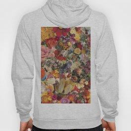 Flower Power Collage Hoody