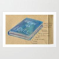 Anatomy of a Novel Art Print