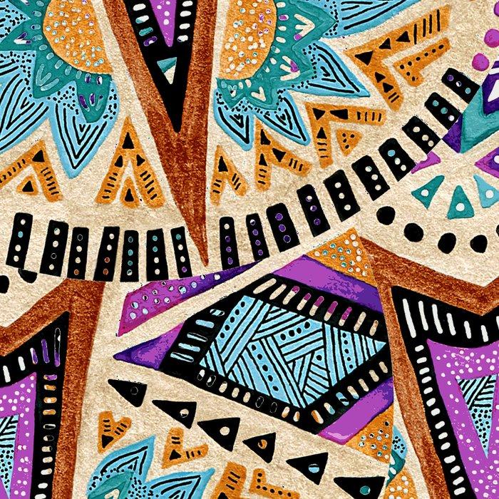 Tribal Folk Icon Leggings