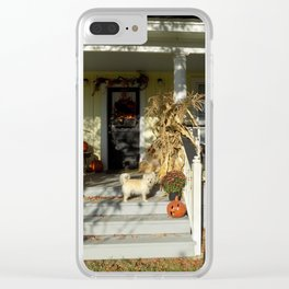 A Country Halloween Clear iPhone Case