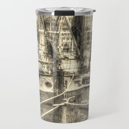 Thames Barges art Travel Mug