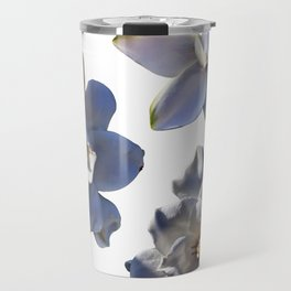 3 White Gardenias [Cecilia Lee] Travel Mug