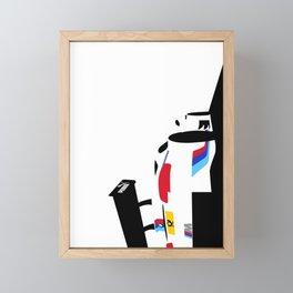 DTM E92 Framed Mini Art Print