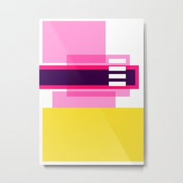 Bright Abstract II Metal Print