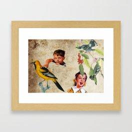 I love them! / I grab it Framed Art Print