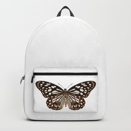"Butterfly species Tirumala limniace ""Blue Tiger"" Backpack"