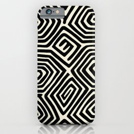 Kuna Indian Butterfly iPhone Case
