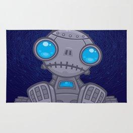 Sad Robot Rug