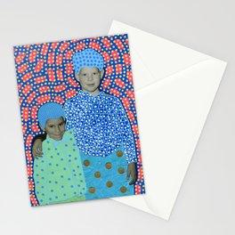 Blue Minty Friendship Stationery Cards
