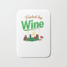 Candlemaker Candlemaking Candlelight Fueled By Wine Chandler Gift Bath Mat