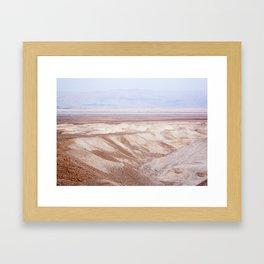 Dead Sea - Wide Framed Art Print