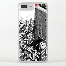 Kaneda Clear iPhone Case