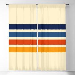 Katahide - Classic Retro Stripes Blackout Curtain