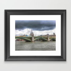 Southwark Bridge Framed Art Print