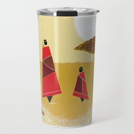 father and daughter Travel Mug