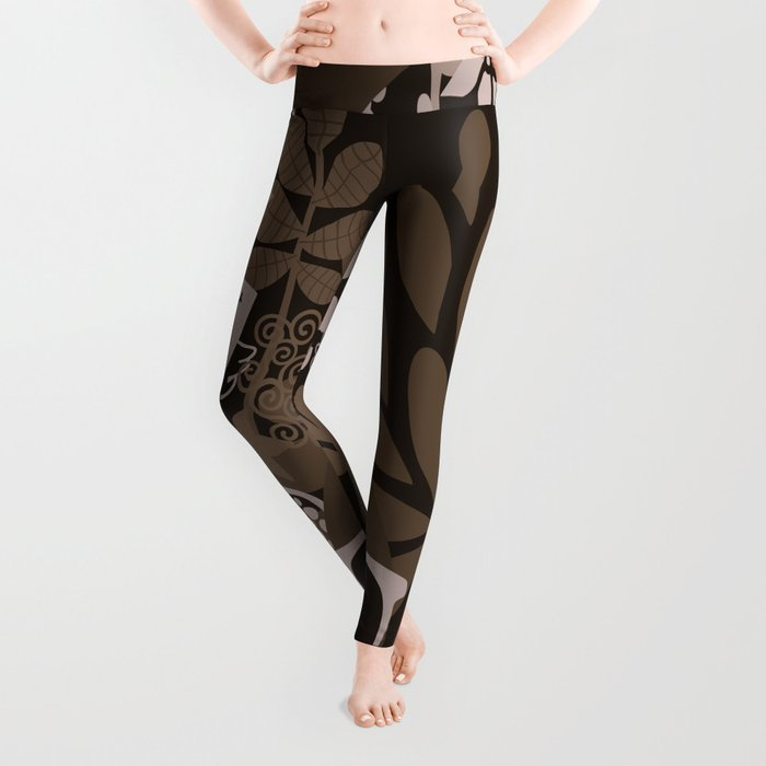 Afro Diva : Brown Sophisticated Lady Leggings