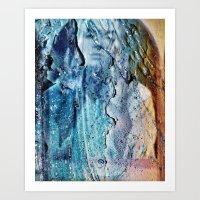 AngelFace Art Print