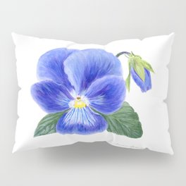 Purple Pansy by Teresa Thompson Pillow Sham