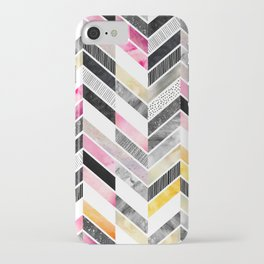 Arabescato iPhone Case