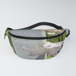 Flowers by the picket fence. Fanny Pack