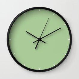 Nile Green | Pantone Fashion Color Spring : Summer 2018 | London Solid Color Wall Clock
