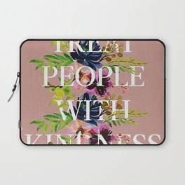 Treat People With Kindness graphic artwork / Harry Styles Laptop Sleeve