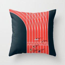 Sprinter  Throw Pillow
