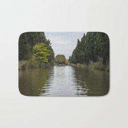 Canal du Midi, Carcassonne, France Bath Mat