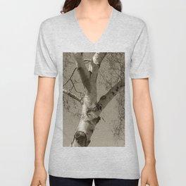 Birch tree #02 Unisex V-Neck