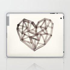Wooden Heart Laptop & iPad Skin