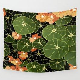 Tropaeolum flowers Wall Tapestry