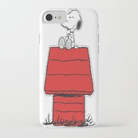 snoopy iPhone & iPod Cases featuring Snoopy by Simple Touch Apparel