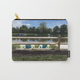 Sunny Lake Beach Carry-All Pouch