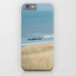 Sea ride iPhone Case