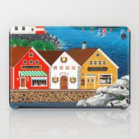 puffin iPad Cases featuring Puffin Point by Kirbeekatz