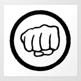 Fist Art Print