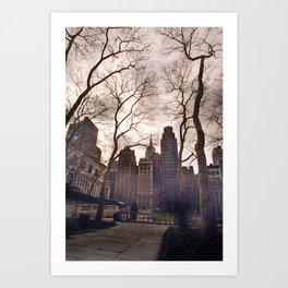 N.Y. Park  Art Print