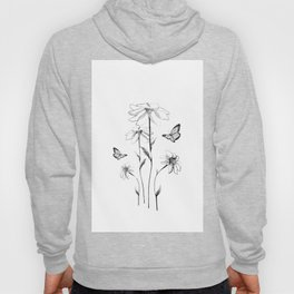 Flowers and butterflies 2 Hoody