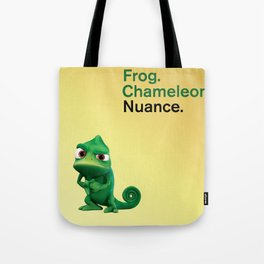 Nuance - Tangled - Gold Tote Bag